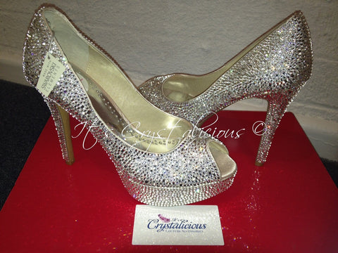 Send in your Shoes - SWAROVSKI® embellished Crystal Pumps *