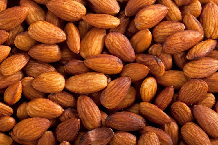 Almonds Dry Roasted Unsalted 8oz