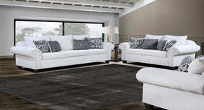 CAMPBELL SNOW SOFA & LOVESEAT