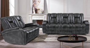 Bolero Dual Power Reclining Loveseat