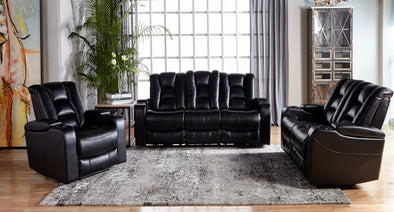 Transformer Power Reclining Sofa & Loveseat