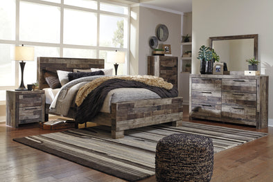Derekson - Queen Bedroom Package W/ FREE MATTRESS SET