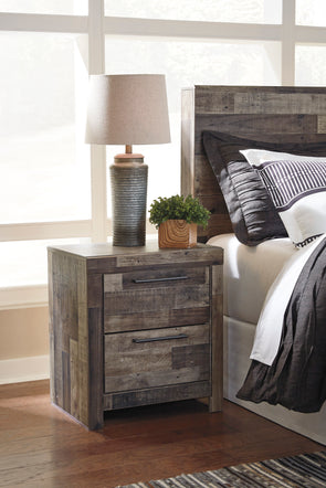 Derekson - Multi Gray - Nightstand