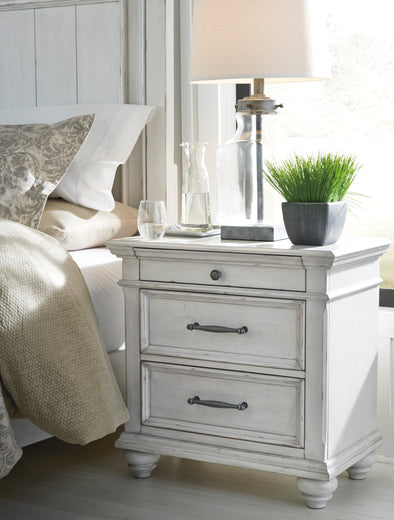 Kanwyn - Whitewash - Nightstand