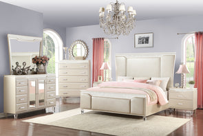 Chanel - Ivory - King Bed ONLY *CLOSEOUT*