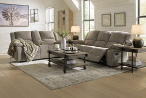 Draycoll - Pewter - Reclining Loveseat