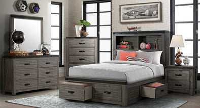 Wade Twin Storage Bed