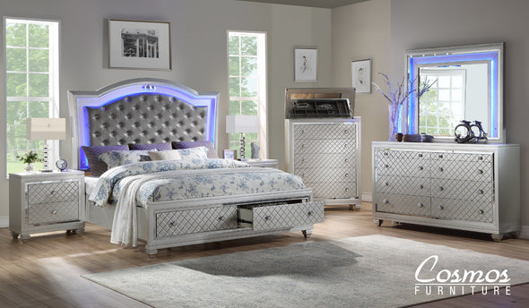 Glamour - Champaigne - Queen Bed