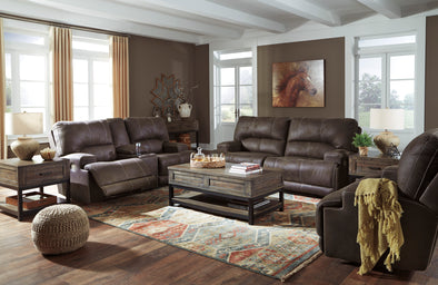 Java 2-PC Power Reclining Sofa & Loveseat