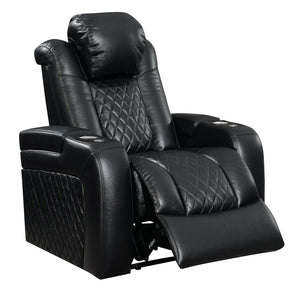 The Transformer - Black - Power Recliner with Power Headrest