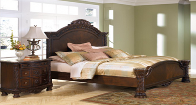 North Shore 3 PC King Panel Bed