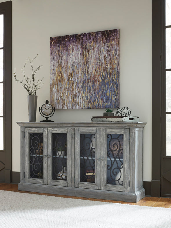 Mirimyn - Antique Gray - Accent Cabinet *SPECIAL*