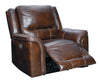 Catanzaro - Mahogany - PWR Recliner/ADJ Headrest