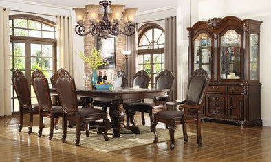 Royale - Dark Brown - 5-PC Dining Set