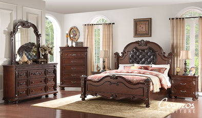 Destiny - Brown - King Bed