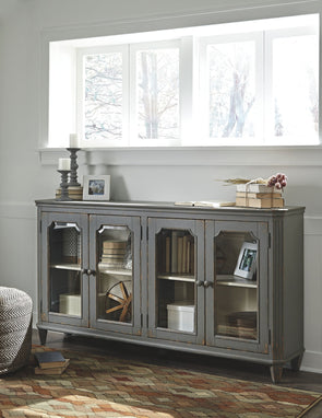 Mirimyn - Antique Gray - Accent Cabinet