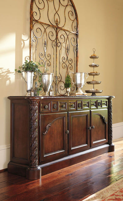 North Shore - Dark Brown - Dining Room Buffet