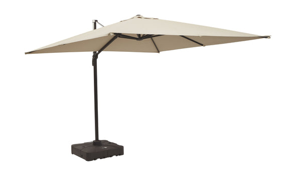 Devra Bay - Beige - Large Cantilever Umbrella