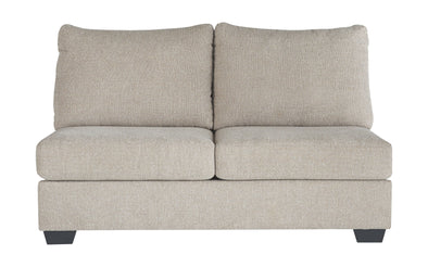 Baranello - Stone - Armless Loveseat