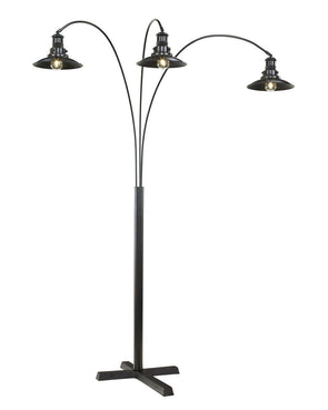 Sheriel - Black - Metal Arc Lamp (1/CN)
