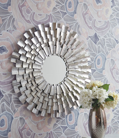Zelenak - Silver Finish - Accent Mirror