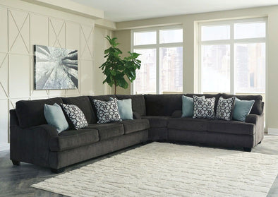 Charenton - Charcoal - Sofa, Wedge & Loveseat Sectional
