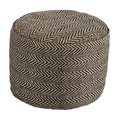 Chevron - Natural - Pouf