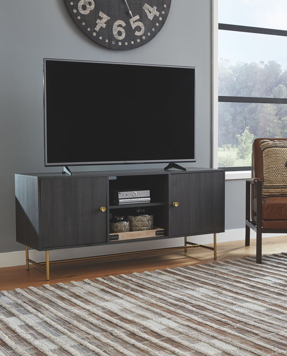 Yarlow - Black - Large TV Stand