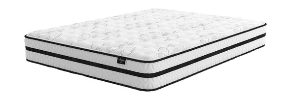Chime 10 Inch Hybrid - White - California King Mattress