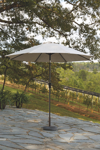 Umbrella Accessories - Beige - Medium Auto Tilt Umbrella