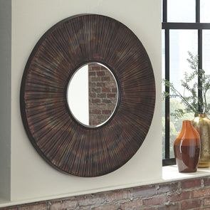 Bartleby - Copper/Bronze Finish - Accent Mirror