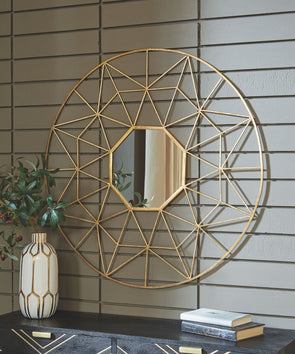 Bulana - Gold Finish - Accent Mirror