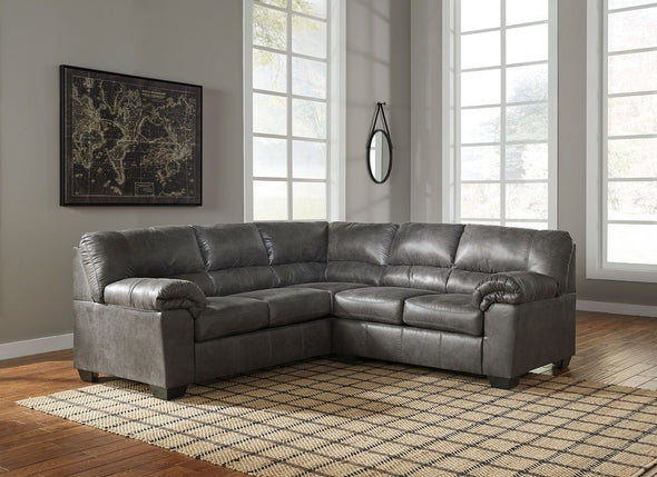 Bladen - Slate - LAF Sofa & RAF Loveseat Sectional