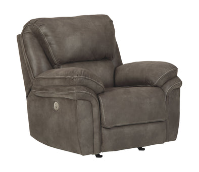 Trementon - Graphite - Power Rocker Recliner