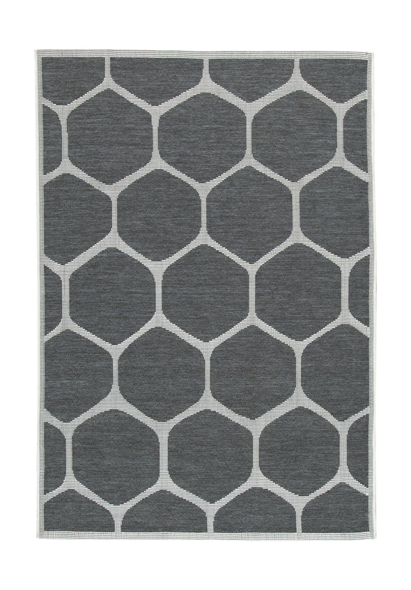 Javed - Charcoal - Medium Rug