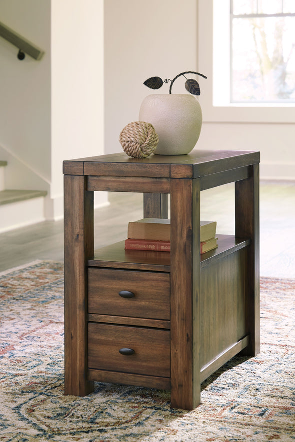 Marleza - Brown - Chair Side End Table