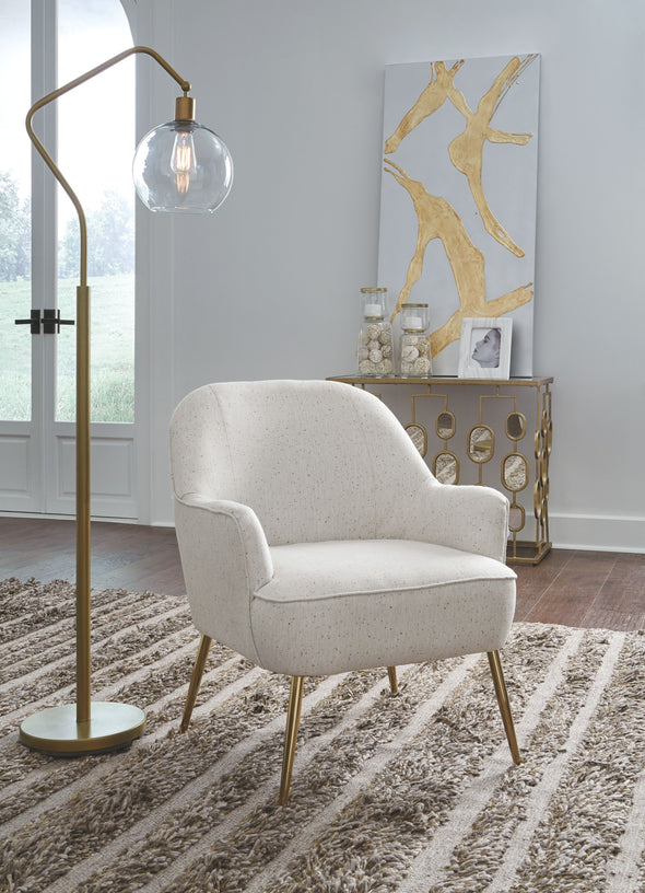 Genessee - Beige - Accent Chair