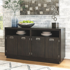 Hyndell - Dark Brown - Dining Room Server