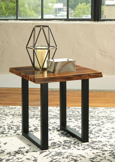 Brosward - Two-tone - Square End Table