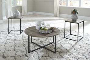 Wadeworth - Two-tone - Occasional Table Set (3/CN)