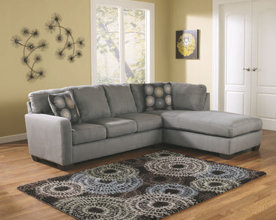 Zella - Charcoal - LAF Sofa & RAF Corner Chaise Sectional