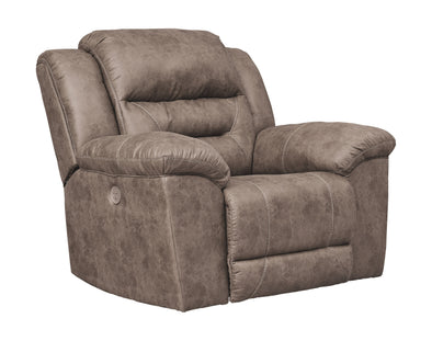 Stoneland - Fossil - Power Rocker Recliner