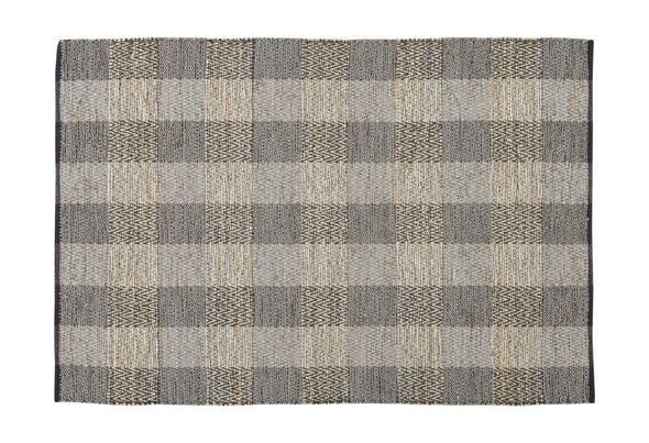 Christoff - Taupe/Black - Medium Rug