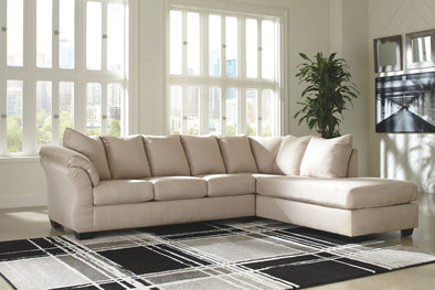 Darcy - Stone - LAF Sofa & RAF Corner Chaise Sectional