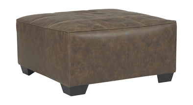 Abalone - Chocolate - Oversized Accent Ottoman