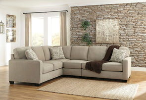 Alenya - Quartz - LAF Sofa, Armless Chair & RAF Loveseat Sectional