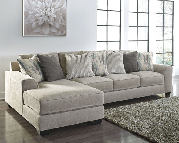Ardsley - Pewter - LAF Corner Chaise & RAF Sofa Sectional