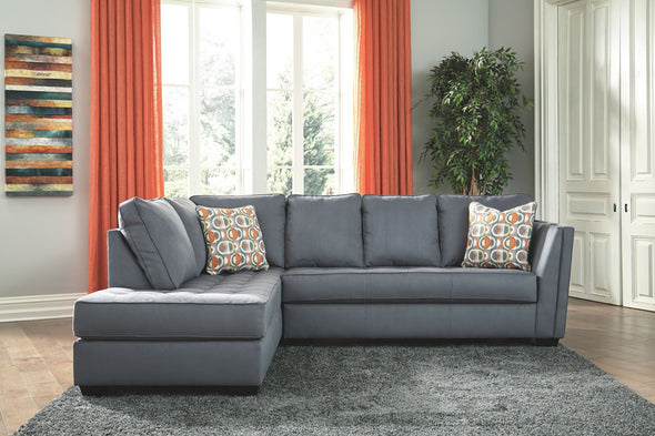 Filone - Steel - LAF Corner Chaise & RAF Sofa Sectional