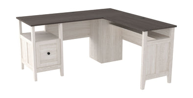 Dorrinson - Two-tone - 2-PC Home Office Desk