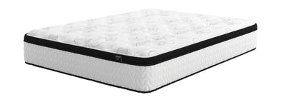 Chime 12 Inch Hybrid - White - Queen Mattress